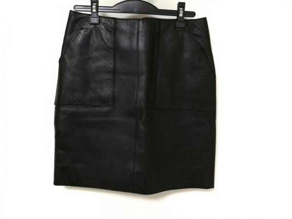 THE SECRET CLOSET(ザシークレットクローゼット) スカート レディース 黒 レザー