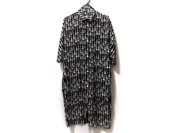 Devastee(ディバステ) ワンピース サイズ36 S レディース新品同様  黒×白 墓