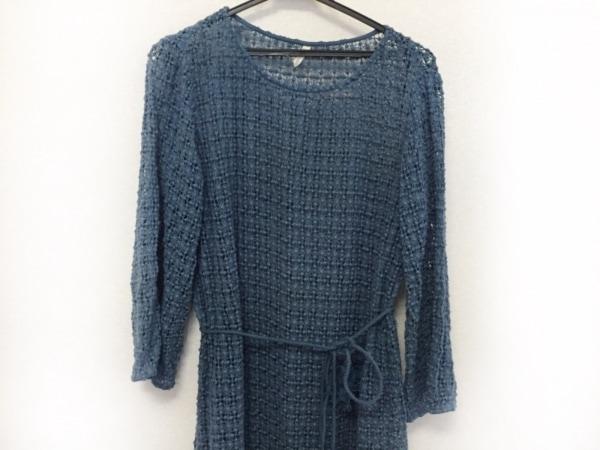 UNGRID(アングリッド) ワンピース サイズF レディース美品  ブルー