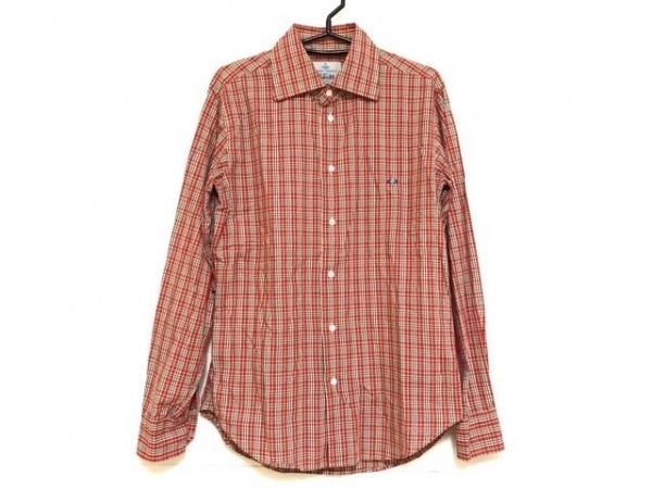 ヴィヴィアンウエストウッドマン 長袖シャツ サイズ48 XL メンズ チェック柄
