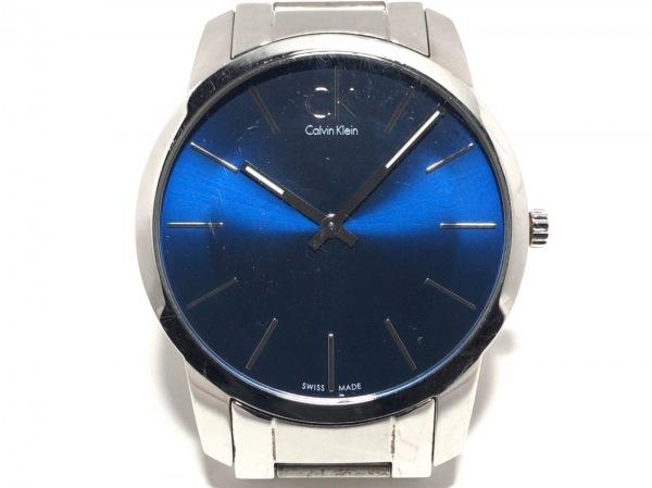 CalvinKlein(カルバンクライン) 腕時計 - メンズ ネイビー