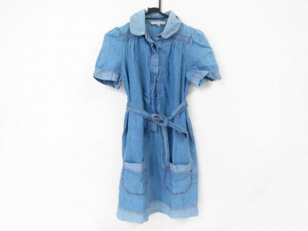 SEE BY CHLOE(シーバイクロエ) ワンピース サイズ38 M レディース美品  ブルー