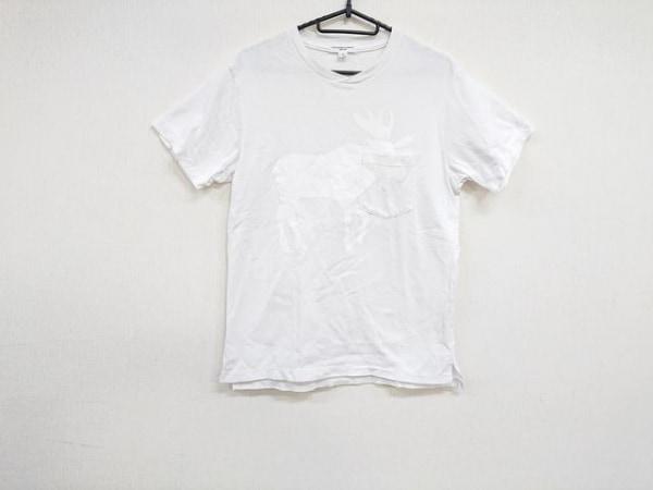 Engineered Garments(エンジニアードガーメンツ) 半袖Tシャツ サイズS メンズ美品  白