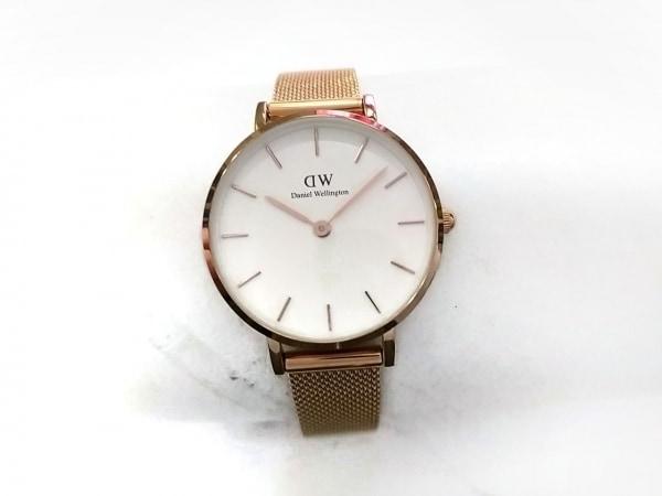Daniel Wellington(ダニエルウェリントン) 腕時計美品  B28R03 レディース アイボリー