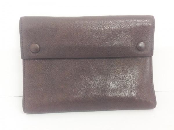 土屋鞄製造所(ツチヤカバンセイゾウショ) 手帳 ダークブラウン レザー