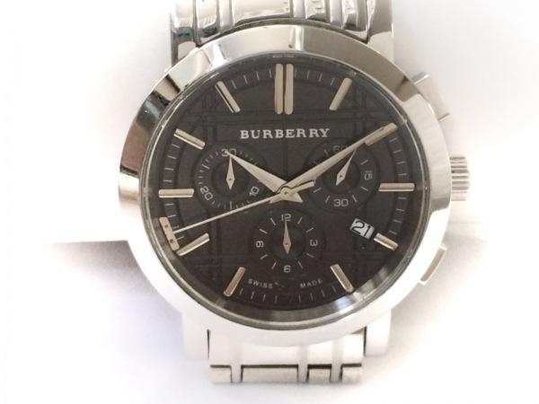 Burberry(バーバリー) 腕時計 ヘリテージ BU1360 メンズ クロノグラフ 黒