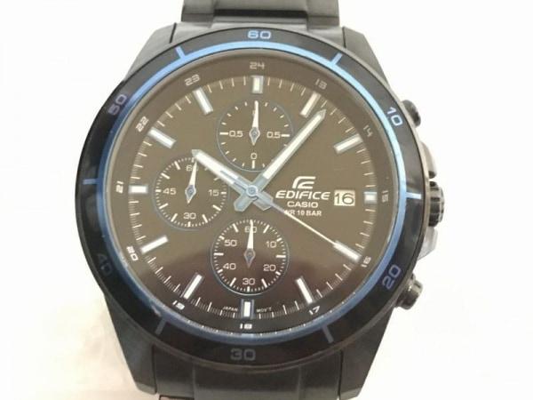 CASIO(カシオ) 腕時計 EDIFICE EFR-526BKJ メンズ クロノグラフ 黒