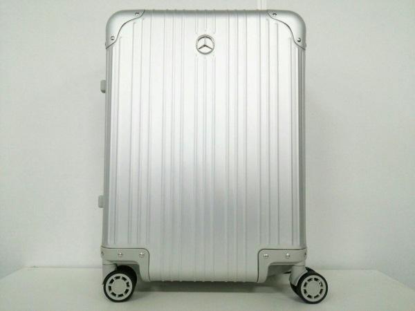 メルセデスベンツ キャリーバッグ美品  シルバー ダイヤルロック000 アルミニウム