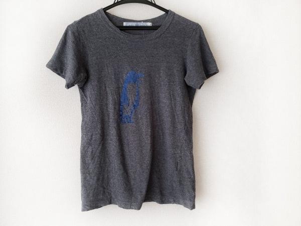 オールドマンズテーラー 半袖Tシャツ サイズM レディース グレー×ブルー ペンギン