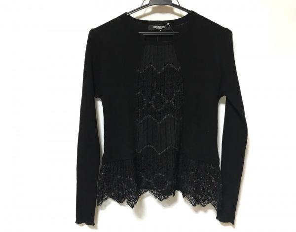 HIROKO BIS(ヒロコビス) 長袖セーター サイズ11 M レディース美品  黒