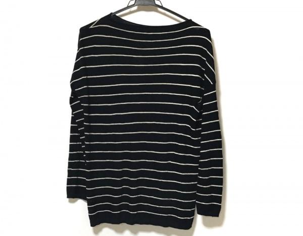 ヴィンス 長袖セーター サイズS レディース美品  ネイビー×アイボリー ボーダー