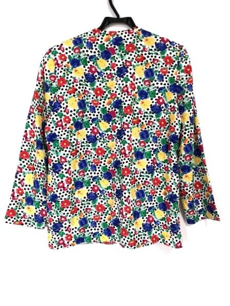 ペンドルトン ジャケット サイズ8 M レディース 白×ブルー×レッド×マルチ