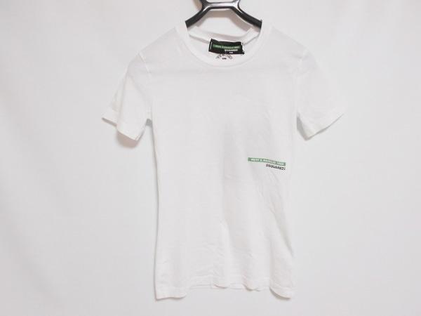 DSQUARED2(ディースクエアード) 半袖Tシャツ サイズXXS XS レディース美品  S73GC0228