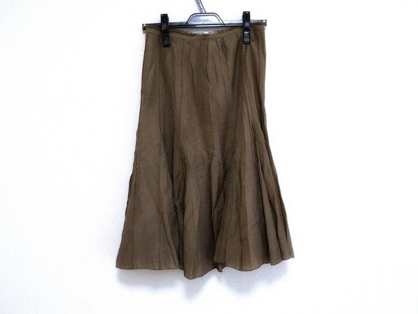 SONIARYKIEL(ソニアリキエル) スカート サイズ38 M レディース美品  カーキ