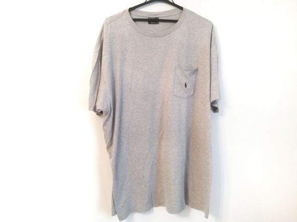 POLObyRalphLauren(ポロラルフローレン) 半袖Tシャツ サイズXL メンズ グレー
