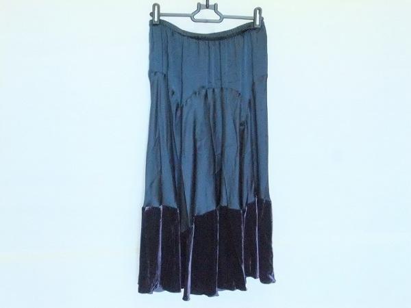 イザベルマラン ロングスカート サイズ0 XS レディース ダークネイビー