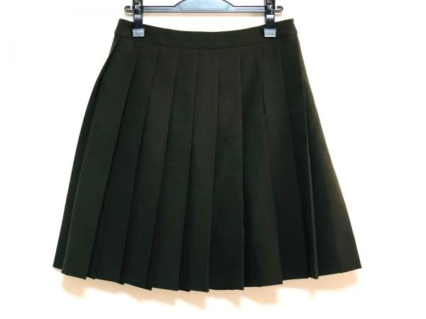 miumiu(ミュウミュウ) スカート サイズ38 S レディース美品  カーキ 2015年
