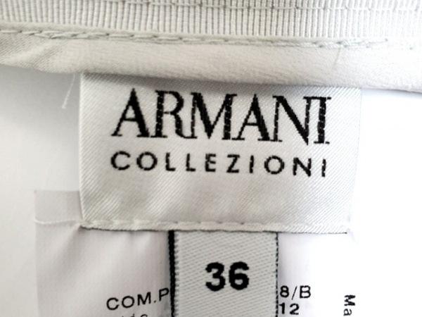 アルマーニコレッツォーニ スカート サイズ36 S レディース新品同様  ライトグレー