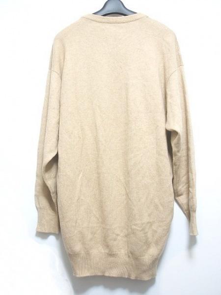 ERIBE(エリベ) 長袖セーター メンズ ベージュ カシミヤ