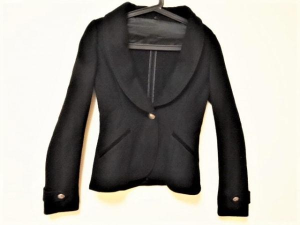 BLACK by moussy(ブラックバイマウジー) ジャケット サイズ1 S レディース 黒