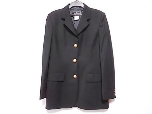 LesCopains(レコパン) ジャケット サイズ40 M レディース美品  黒
