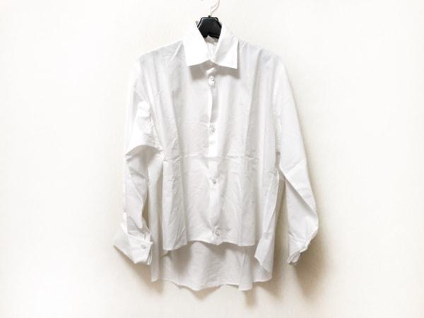 Y's(ワイズ) 長袖シャツブラウス サイズ3 L レディース 白 オーバーサイズ