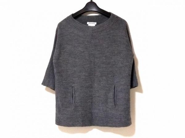 NARACAMICIE(ナラカミーチェ) 七分袖セーター サイズ1 S レディース グレー