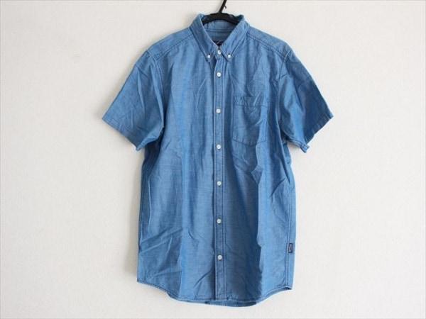 Patagonia(パタゴニア) 半袖シャツ サイズM メンズ美品  ブルー