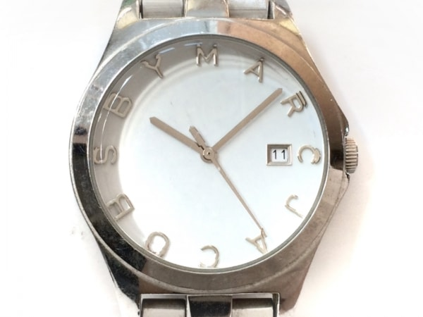 MARC BY MARC JACOBS(マークジェイコブス) 腕時計 MBM3036 レディース 白