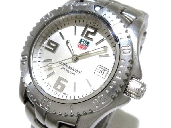TAG Heuer(タグホイヤー) 腕時計 リンク WT1212 メンズ シルバー