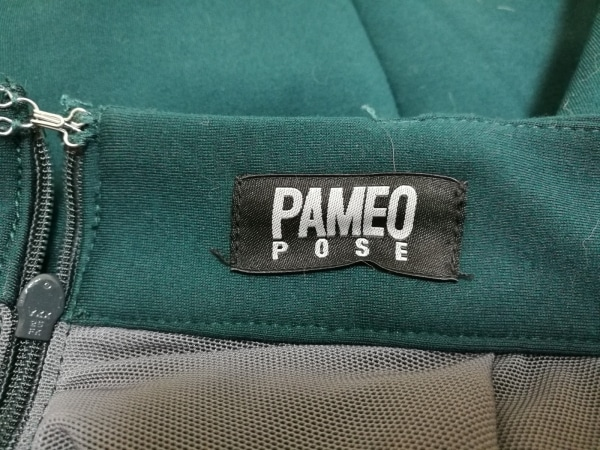 PAMEO POSE(パメオポーズ) スカート レディース グリーン