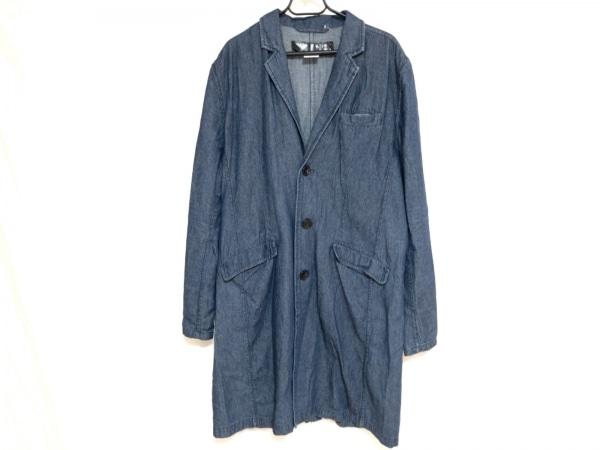 rovtski(ロフトスキー) コート サイズ3 L メンズ美品  ネイビー 春・秋物/デニム