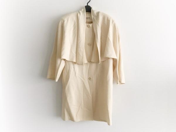 レジアンス コート サイズ38 M レディース ベージュ 肩パッド/Double/春・秋物