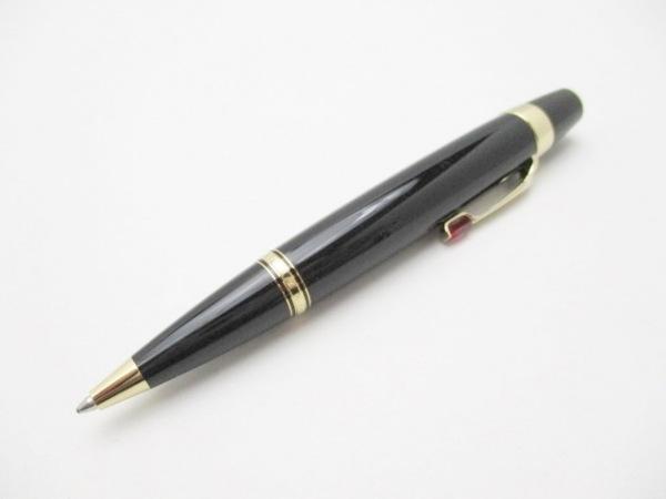 MONTBLANC(モンブラン) ボールペン美品  ボエム 黒×ゴールド×レッド インクあり(黒)