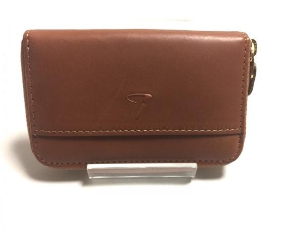 土屋鞄製造所(ツチヤカバンセイゾウショ) コインケース美品  ブラウン レザー