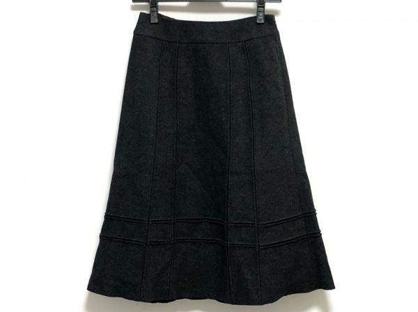Sybilla(シビラ) スカート サイズM レディース美品  チャコールグレー