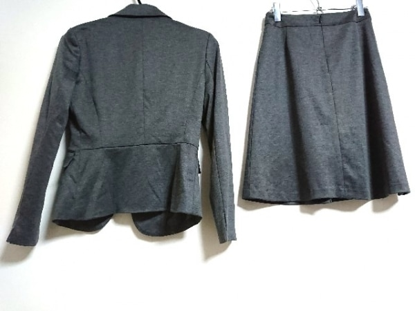 エムエフエディトリアル スカートスーツ サイズS レディース新品同様  ダークグレー
