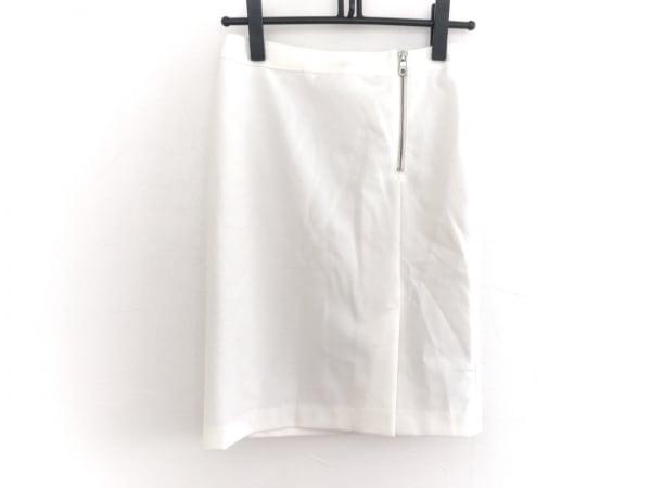 INDIVI(インディビ) スカート サイズ38 M レディース美品  白