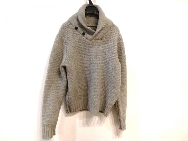 サタデーズ サーフ ニューヨーク 長袖セーター サイズXS メンズ グレー