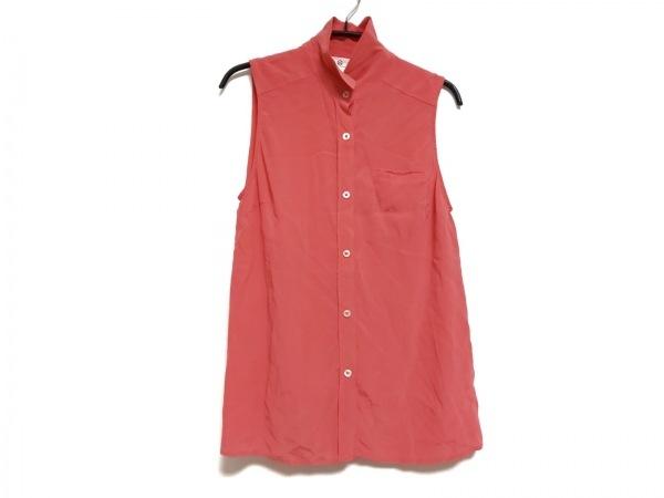 エージーアドリアーノゴールドシュミット ノースリーブシャツブラウス サイズS ピンク