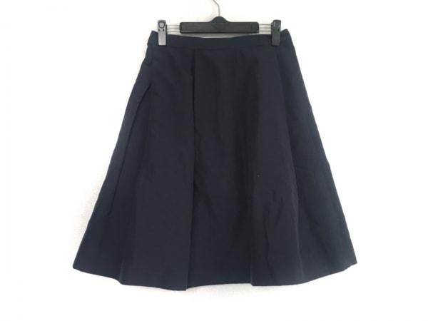 whim gazette(ウィムガゼット) スカート サイズ36 S レディース ダークネイビー