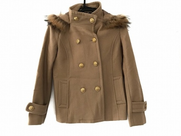 クリアインプレッション コート サイズ3 L レディース ライトブラウン 冬物