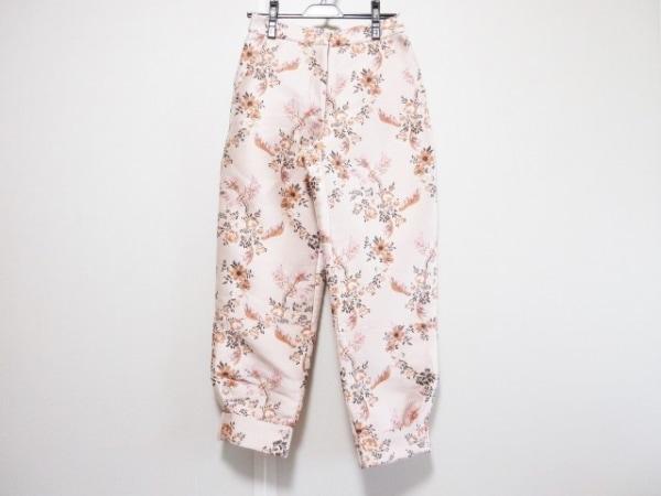 ステラマッカートニー パンツ サイズ38 L レディース美品  花柄/刺繍