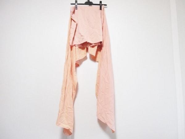 ステラマッカートニー ミニスカート サイズ38 L レディース美品  オレンジ リボン