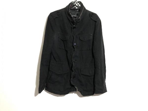 Burberry Black Label(バーバリーブラックレーベル) ブルゾン サイズM メンズ 黒