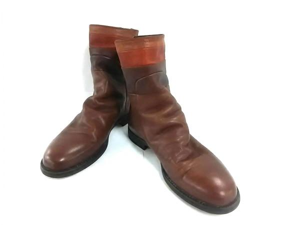 alfredoBANNISTER(アルフレッドバニスター) ブーツ 44 メンズ美品  レザー