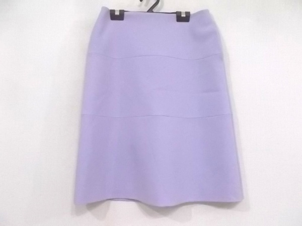 Filo di Seta(フィロディセタ) スカート サイズ38 M レディース美品  パープル