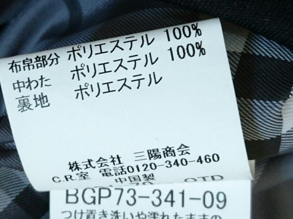 バーバリーゴルフ ダウンベスト サイズS レディース美品  黒 ジップアップ/春・秋物