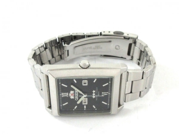 ORIENT(オリエント) 腕時計 スリースター NQAA-C0 メンズ 黒