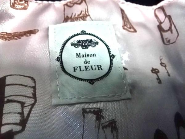 Maison de FLEUR(メゾンドフルール) トートバッグ 黒 ナイロン